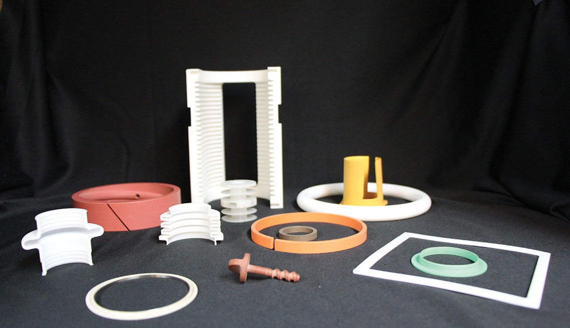 Machined seals, gaskets, o-rings